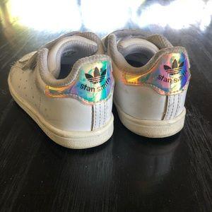 Adidas Stan Smith Mermaid Unicorn Velcro Shoes 6T